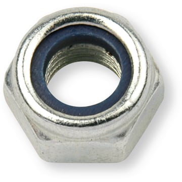 Locking nut DIN 985, M 16, steel 10, zinc plated